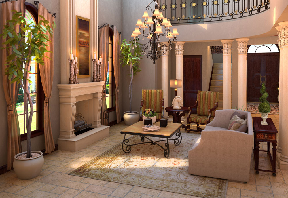 Tuscan-Interior-Design-Ideas-Style-and-Pictures-3 Tuscan-Interior-Design-Ideas, Style and Pictures