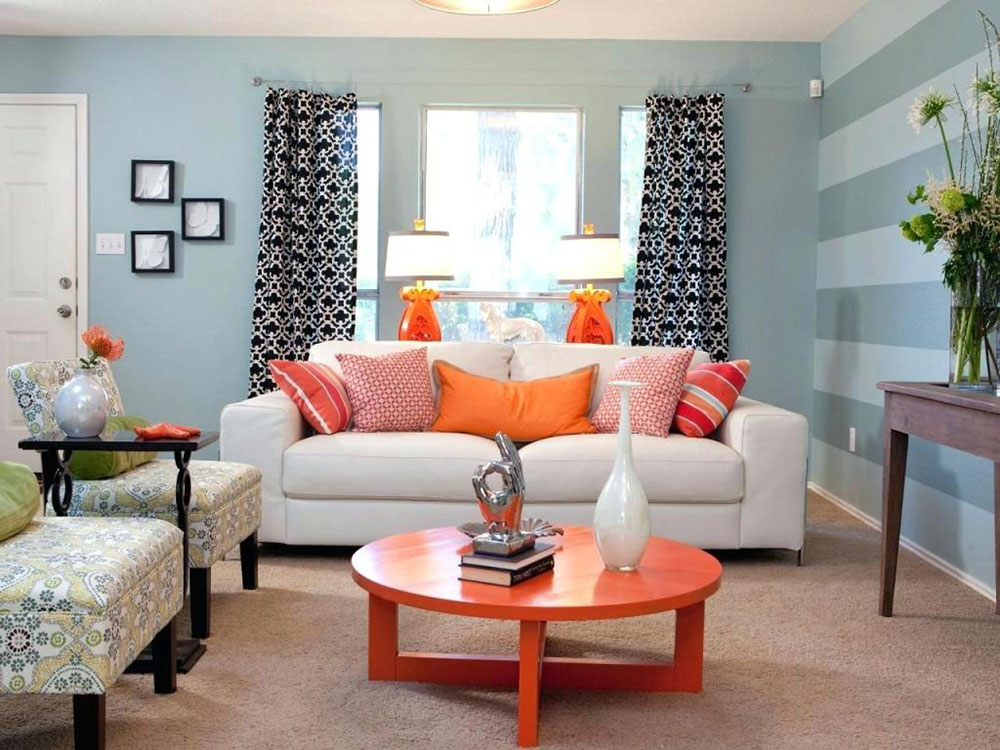 Accent Wall Paint Ideas Living Room Clever ways to transform your living room