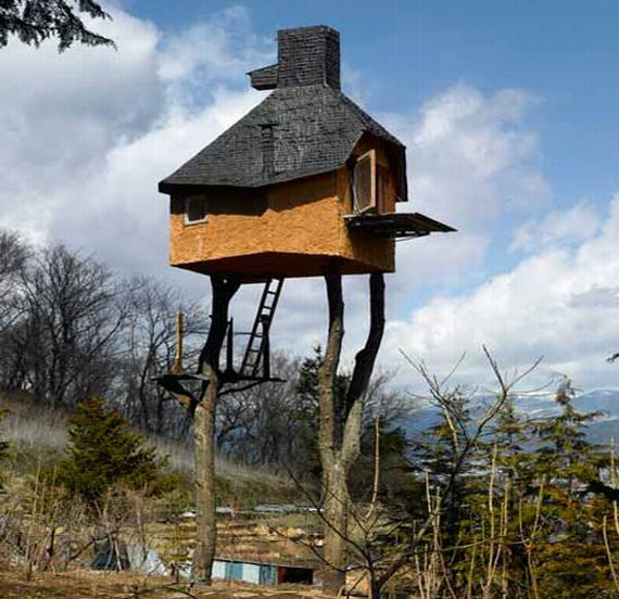t8 Cool Treehouse Design Ideas to Build (44 Pictures)