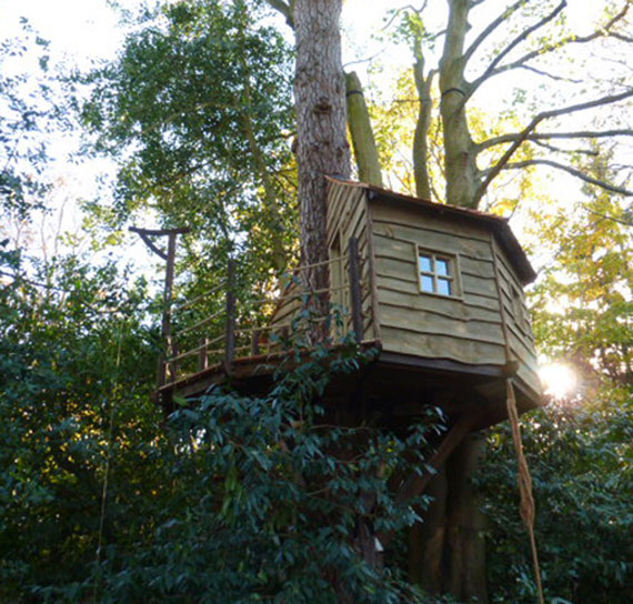 t5 Cool Treehouse Design Ideas to Build (44 Pictures)