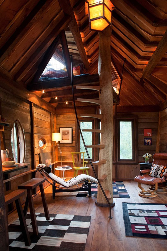 t15 Cool Treehouse Design Ideas to Build (44 Pictures)