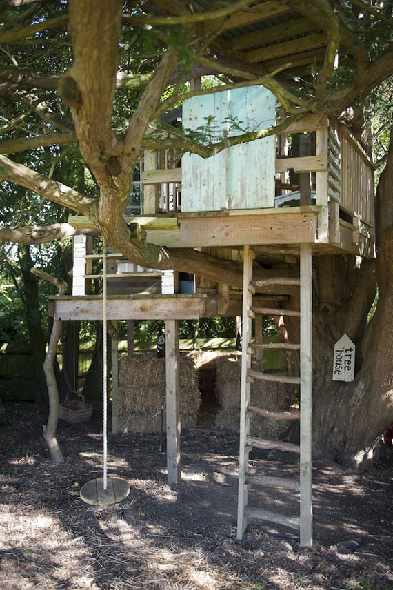 t19 Cool Treehouse Design Ideas to Build (44 Pictures)