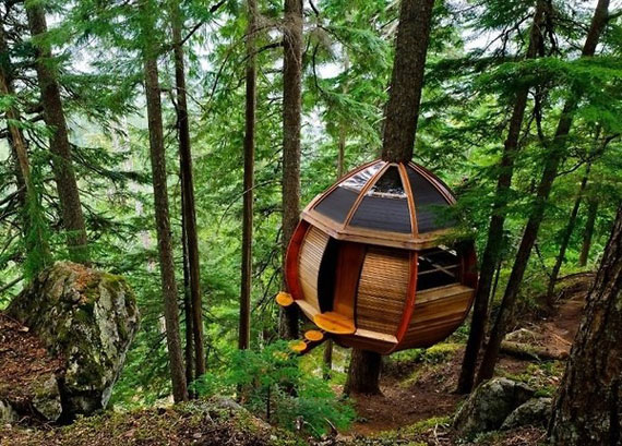 t28 Cool Treehouse Design Ideas to Build (44 Pictures)