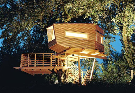 t35 Cool Treehouse Design Ideas to Build (44 Pictures)