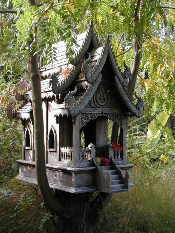 t32 Cool Treehouse Design Ideas to Build (44 Pictures)