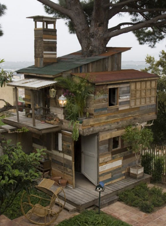 t39 Cool Treehouse Design Ideas to Build (44 Pictures)