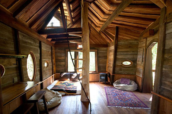 t37 Cool Treehouse Design Ideas to Build (44 Pictures)