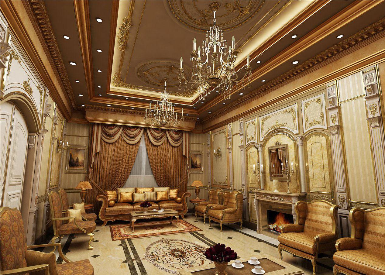 Walls-2 Arabic interior design, decor, ideas and photos