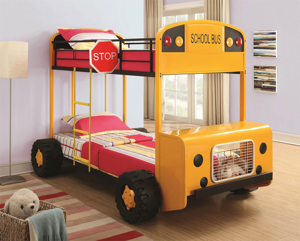 School Bus Bunk Bed 20 low bunk beds ideas for low ceiling rooms