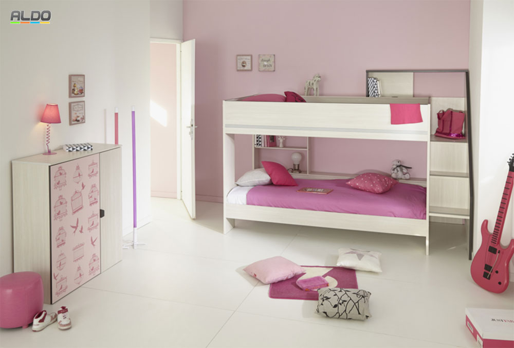 Bunk bed with built in stairs and pullout bed 20 low bunk beds ideas for low ceiling spaces