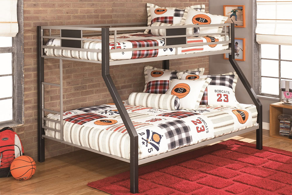 Twin Over Full Metal Bunk Beds 20 low bunk beds ideas for low ceiling rooms
