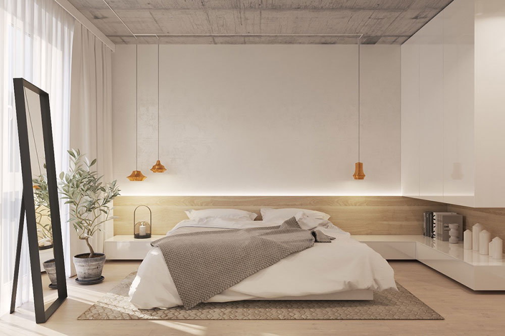 Wood & White Minimalist Bedroom 9 Ways To Sell Your Home Fast