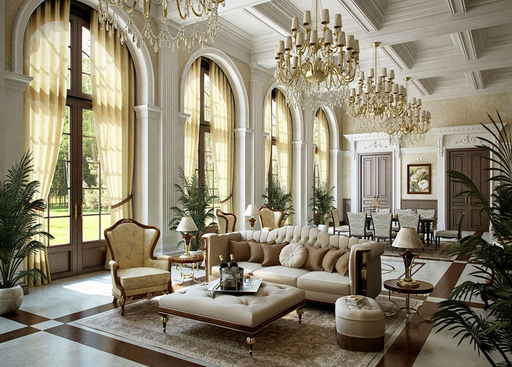 Marble Victorian interior design style, history and interiors