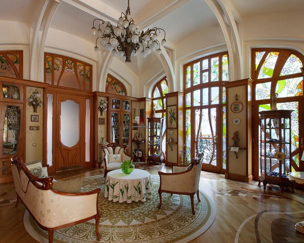 Art Nouveau-interior-design-with-its-style-decor-and-colors-3 Art Nouveau-interior design with its style, decor and colors