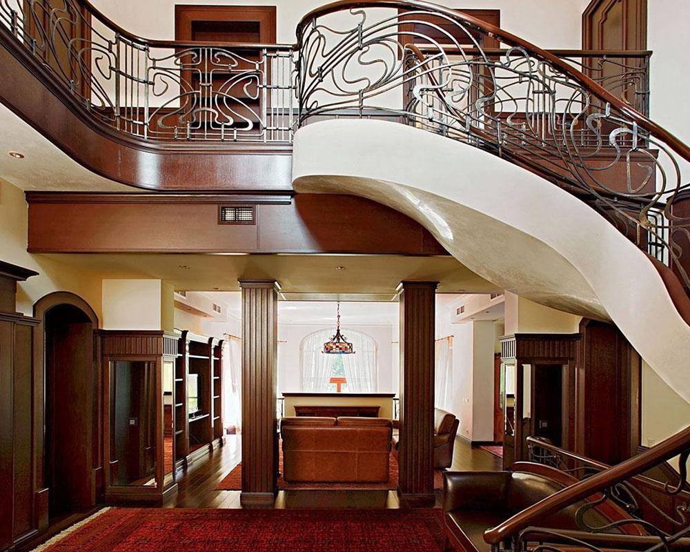 1393518609_style-modern-or-art-nouveau Art Nouveau interior design with style, decor and colors