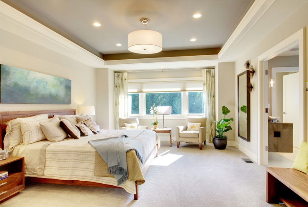 Image 7-6 Tray Ceiling Design Ideas: How To Decorate And Paint Them