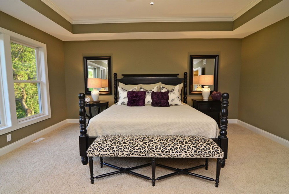 Image 1-6 Tray Ceiling Design Ideas: How To Decorate And Paint Them