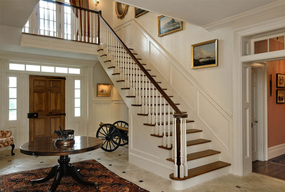 Image-13-8 Stair walls decoration ideas
