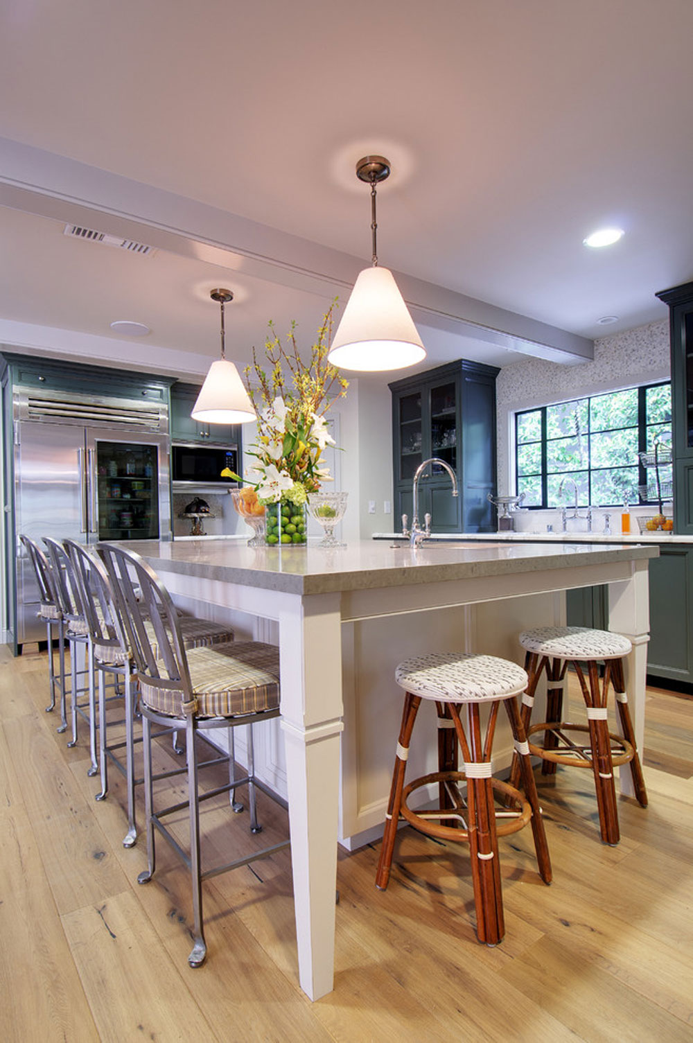 Roxbury-Kitchen-by-Chelsea-Construction-Corporation Metal kitchen cabinets: stainless steel furniture for your kitchen