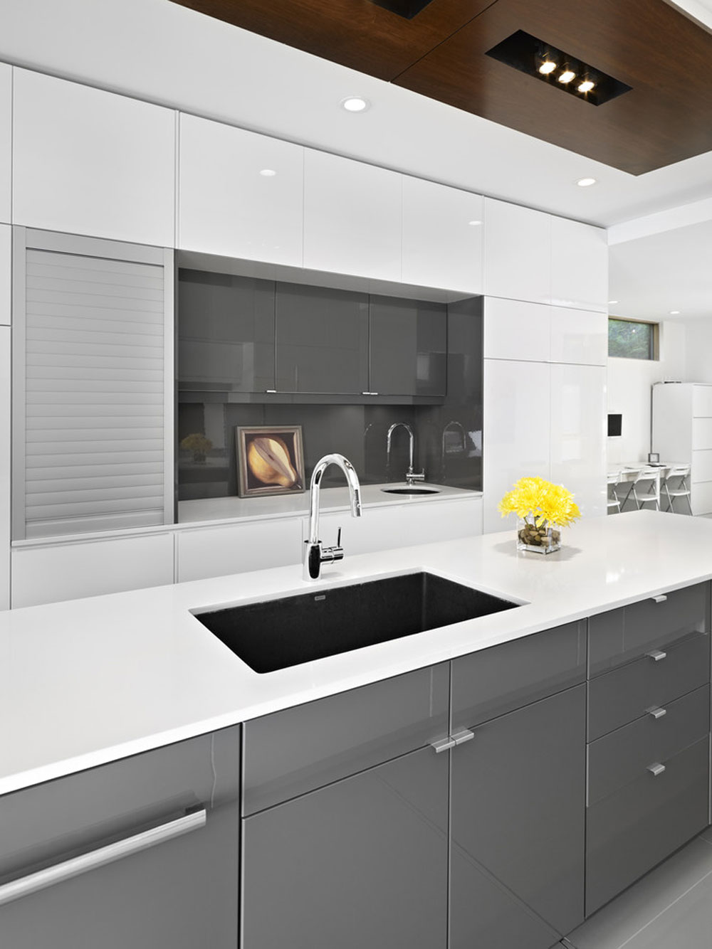 LG-House-Kitchen-by-Thirdstone-Inc.-2 metal kitchen cabinets: stainless steel furniture for your kitchen