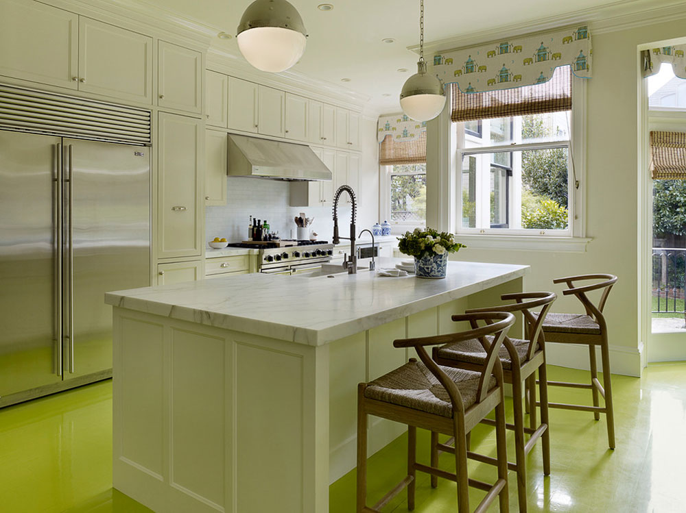 Presidio-Heights-Kitchen-by-Moroso-Construction Green kitchen: ideas, decor, curtains and accessories