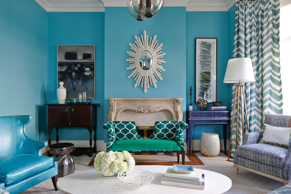 California-St.-Remodel-by-Ardea-Building-Co.  Teal color: colors that go well with teal in the interior