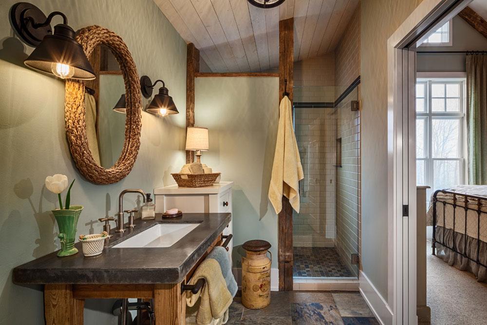 Hidden-Prairie-Farm-by-DeLeers-Construction-Inc.  Bathroom in the farmhouse: decor, ideas, lighting and style