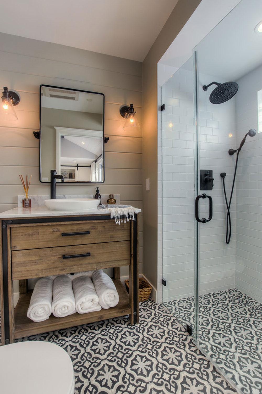 Santa-Monica-Garage-Remodeling-by-Spazio-LA Farmhouse Bathroom: Decor, Ideas, Lighting, and Style