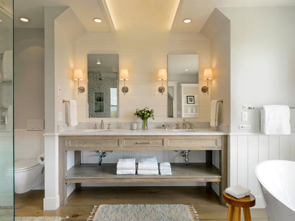 Mountain-Farmhouse-by-Cushman-Design-Group farmhouse bathrooms: decor, ideas, lighting and style
