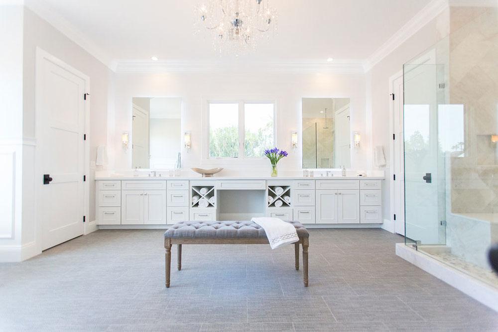Transitional-Paradise-Valley-Farms-House-Renovation-by-Caine-Company Farmhouse Bathroom: Decor, Ideas, Lighting and Style