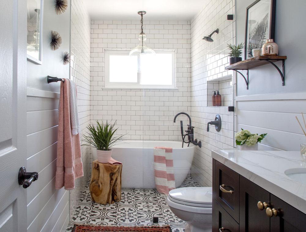 HGTV-bathroom-by-Soko-interior-design-farmhouse-bathroom: decor, ideas, lighting and style