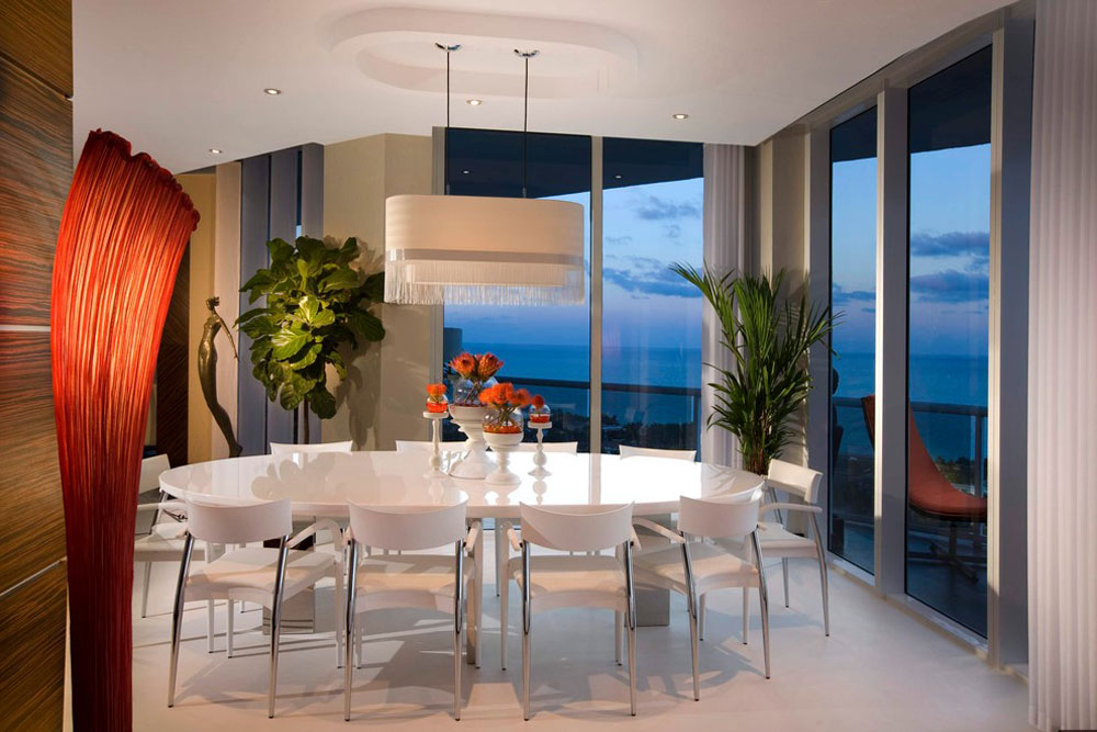 Modern-Dining-Room-by-Brittocharette Futuristic house designs: furniture and home decor