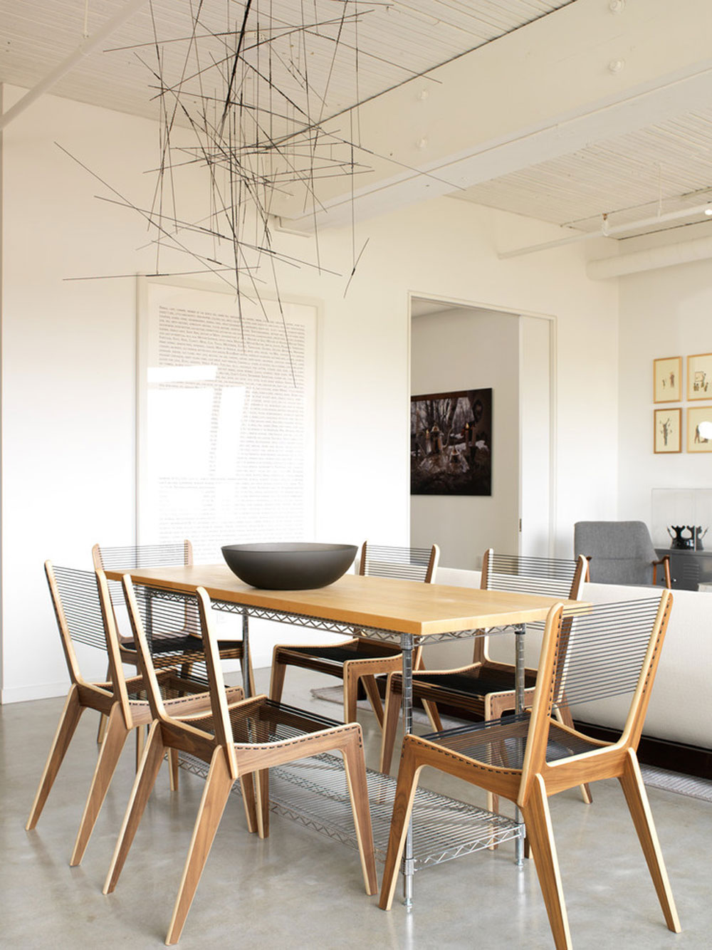 Modern-Dining-Room-by-Croma-Design-Inc Futuristic house designs: furniture and home decor