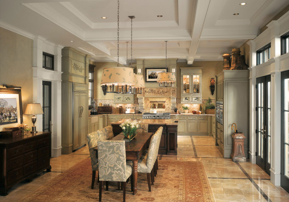 GE-Monogram-Kitchens-by-Monogram-Appliances French country kitchen: decor, cabinets, ideas and curtains