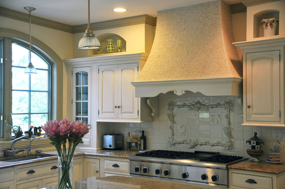 French-kitchen-French-country-kitchen-remodeling-white-kitchen-by-Susan-Serra French country kitchen: decor, cabinets, ideas and curtains