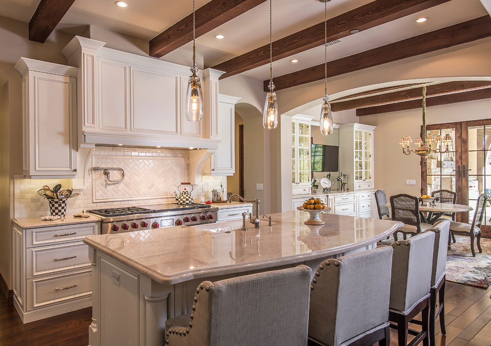 French-Country-II-by-Starion-Custom-Residences French country kitchen: decor, cabinets, ideas and curtains