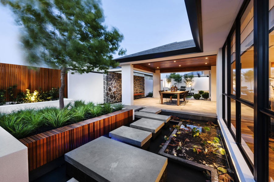 12 Post-modern house with Japanese elements by Webb & Brown-Neaves