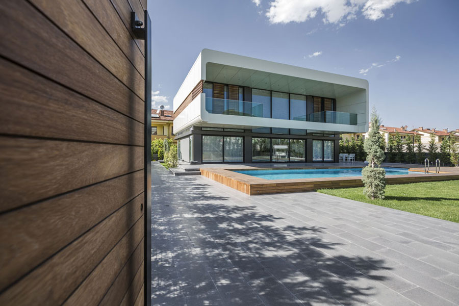 4 bold and unique Turkish house with a contemporary design