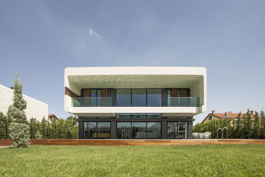 3 bold and unique Turkish house with a contemporary design
