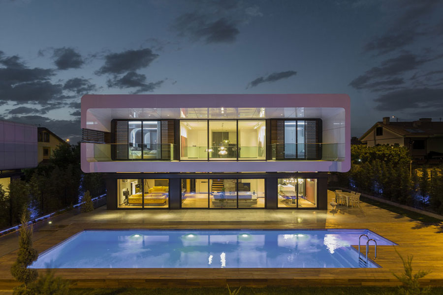 6 bold and unique Turkish house with a contemporary design
