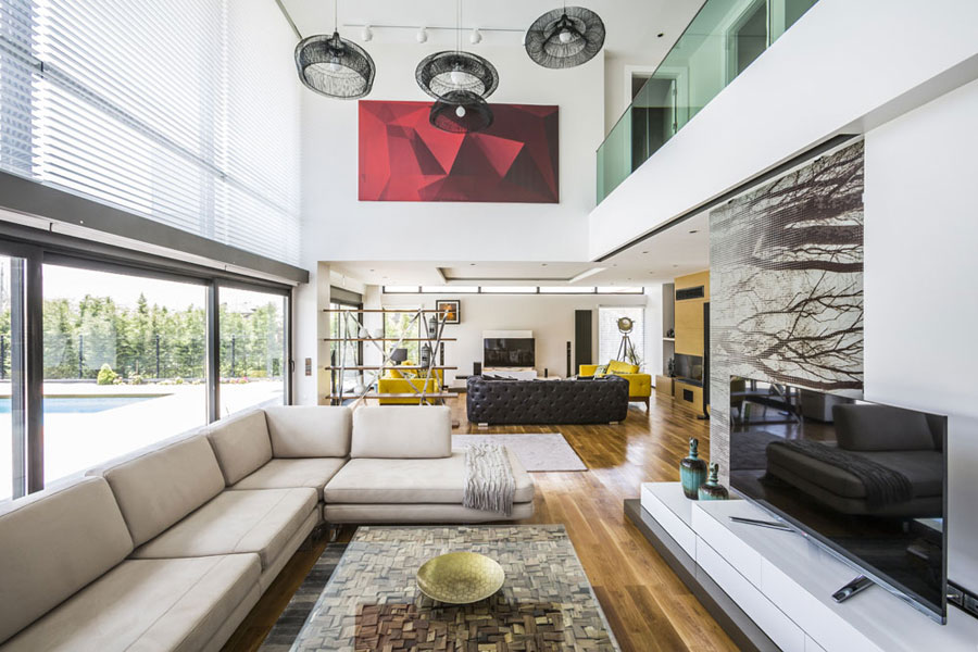 7 Bold and unique Turkish house with a contemporary design