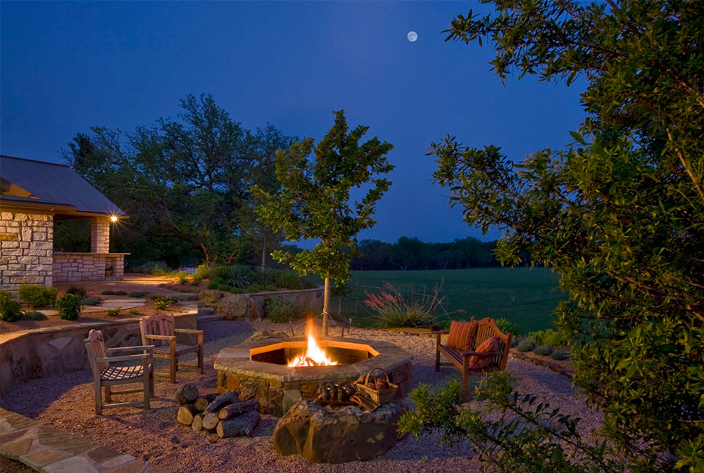 Fire Pit-by-Rick-ODonnell-Architect Fire Pit Designs, Ideas, Covers, and How to Make One
