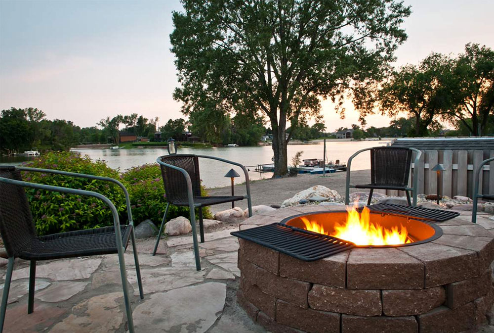 Patio-and-Fire-Pit-Summer-2011-by-Sun-Valley-Landscaping Fire Pit Designs, Ideas, Cover, and How to Make One
