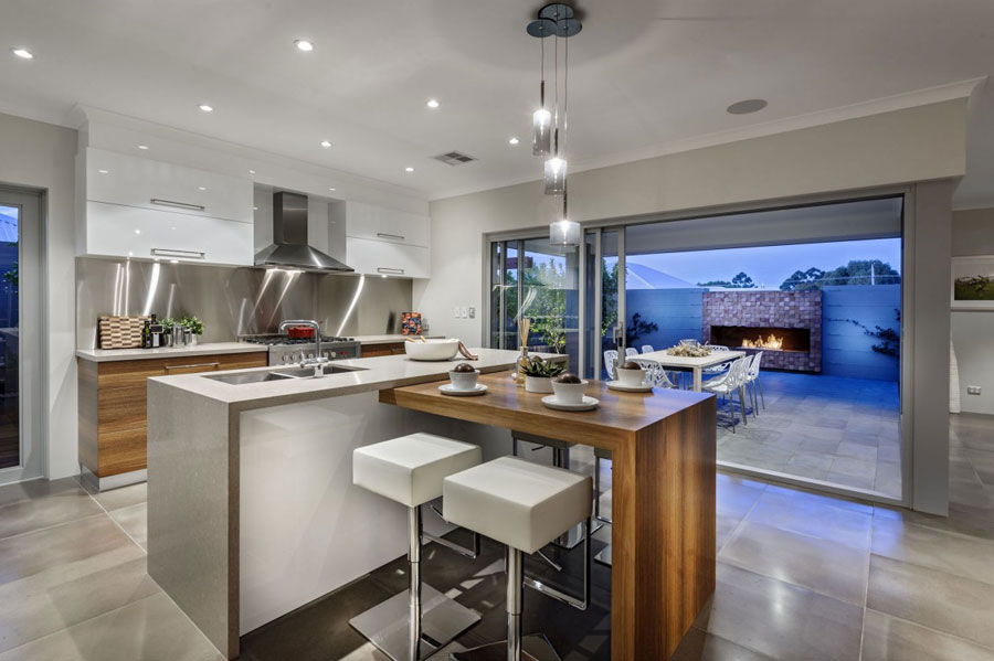 7 Cozy Perth home with a sleek design by Webb & Brown-Neaves
