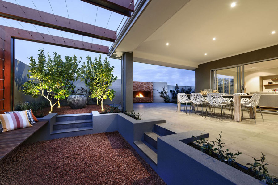 13 Cozy Perth home with a sleek design by Webb & Brown-Neaves