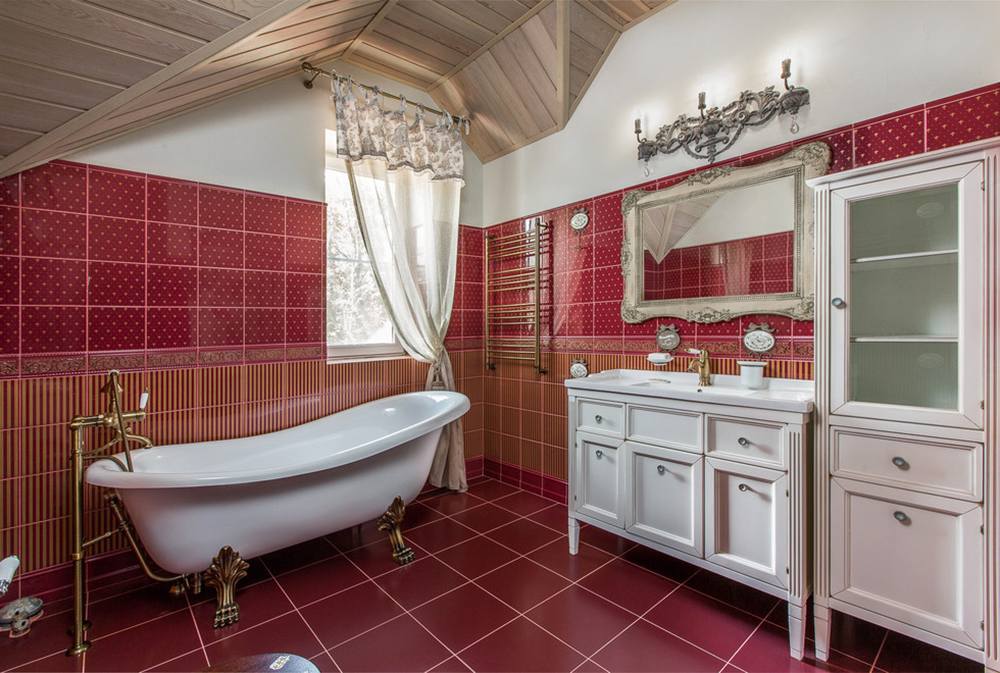 d0b4d0bed0bc-by-d180d0bed0bcd0b0d0bd-d181d0bfd0b8d180d0b8d0b4d0bed0bdd0bed0b2 Red bathroom ideas: carpets, accessories and decor