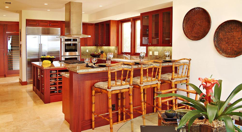Kitchen-Breakfast-Bar-von-Saint-Dizier-Design Breakfast bar: table, stool and design ideas