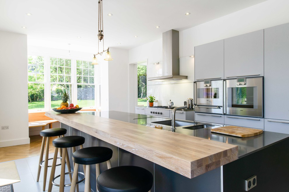 Portfolio-by-Mulcahy-Ralphs-Architects breakfast bar: table, stool and design ideas