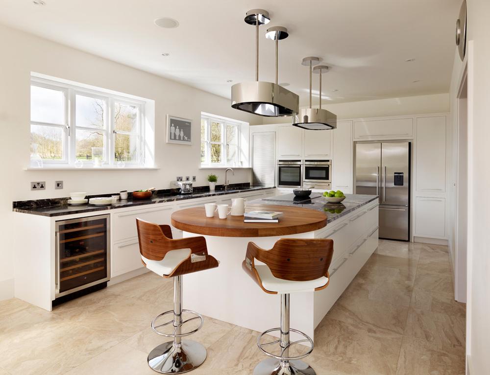 Harvey-Jones-Linear-Kitchens-by-Harvey-Jones-Kitchens Breakfast bar: table, stool and design ideas