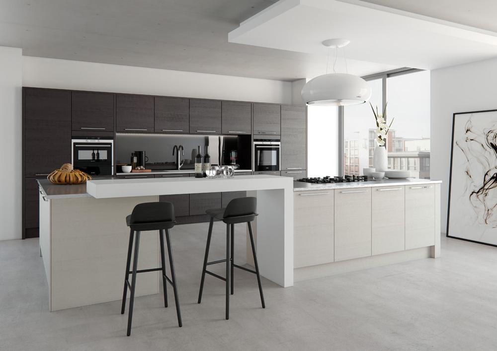 Tavola-oak-from-kitchen-stori-by-kitchen-stori breakfast bar: table, stool and design ideas